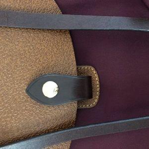 Dooney & Bourke Bags - Dooney & Bourke Burgundy Nylon 65Tote Bag